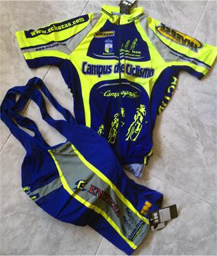Oferta 60 € conjunto azul INVERSE. Tallas: S-M-L-XXL