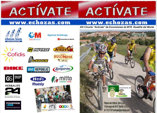 Díptico 2015 Circuito Actívate MTB Boadilla del Monte