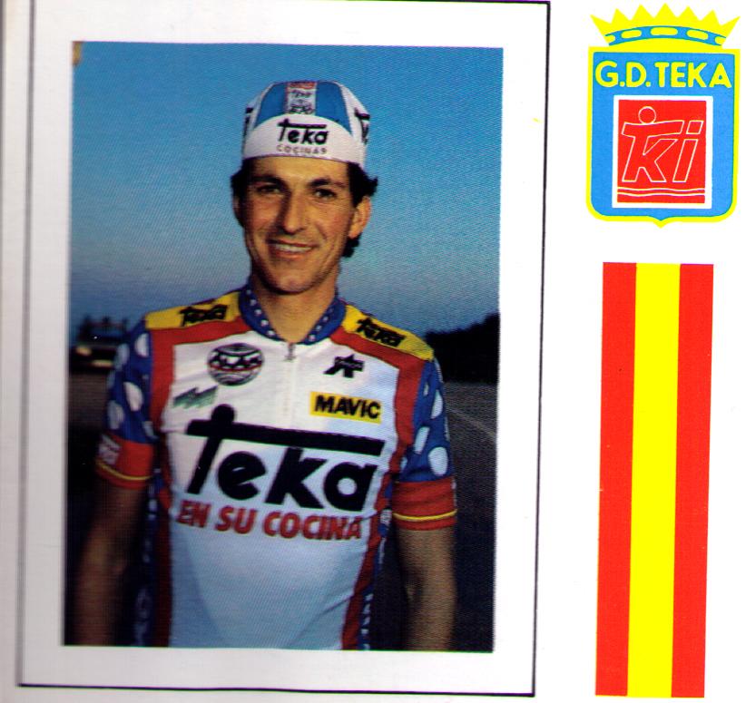 Eduardo Chozas, equipo Teka 1986 y 1987