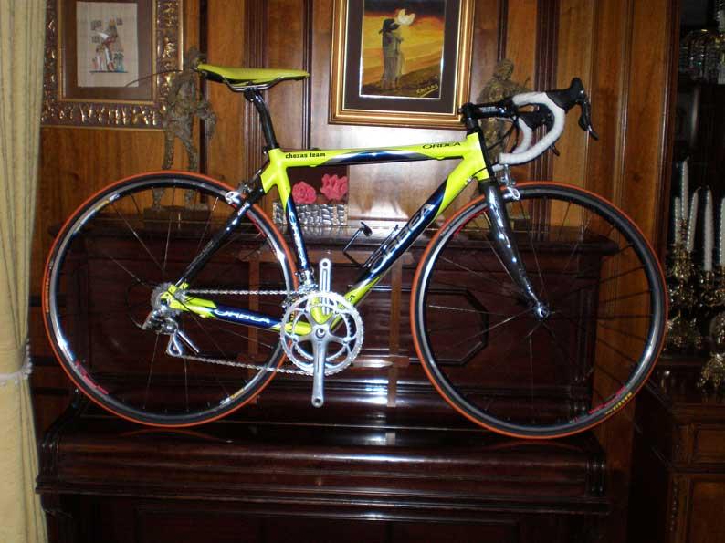 Bicicleta Orbea cuadro Vertex de aluminio y carbono