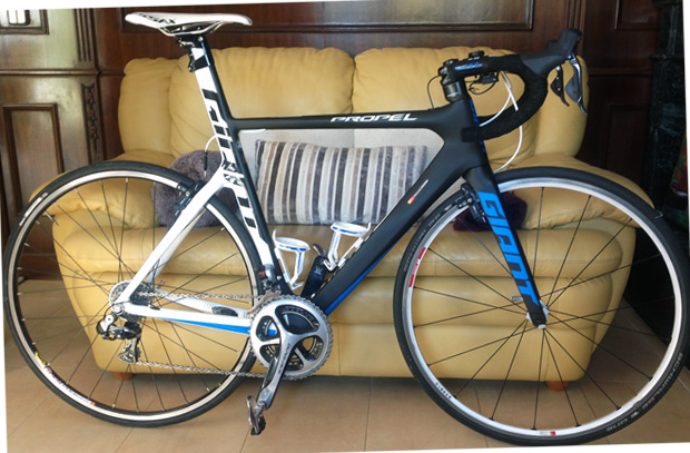 GIANT PROPEL AVANCED SL GRUPO DURACE ELECTRONICO RUEDAS DT SWISS TRICON 5.000 €