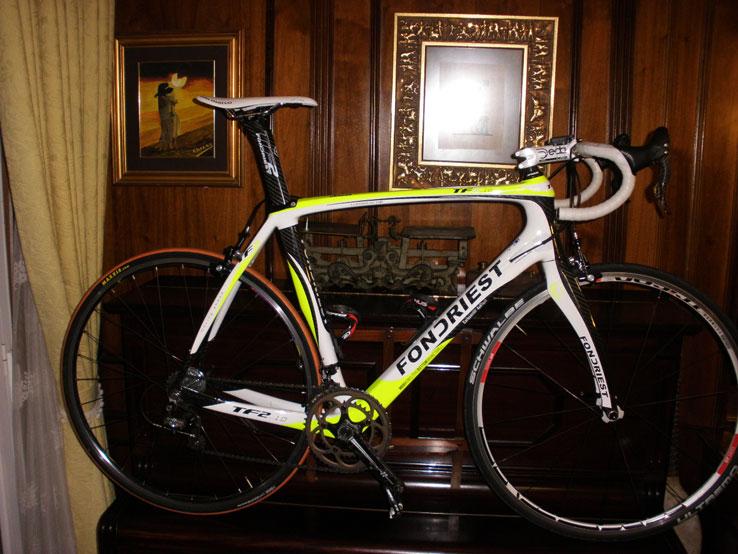 Bicicleta cuadro Fondriest TF2 1.0. Grupo Súper Récord,talla 57,