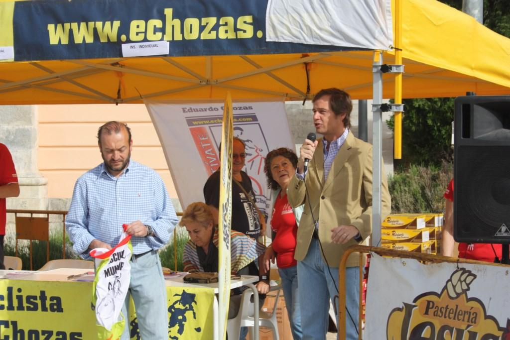 El alcade de Boadilla José Antonio González Terol y el Adolfo Árias Concejal de Deportes