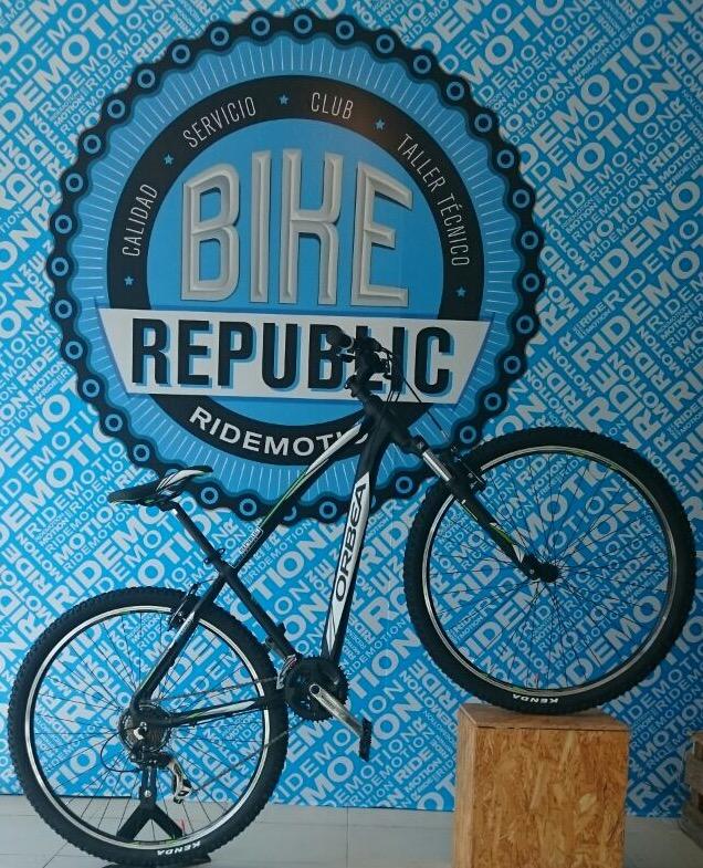 Bici que se sortea por gentileza de Bike Republic con una revisión gratis de la bici para cada participante