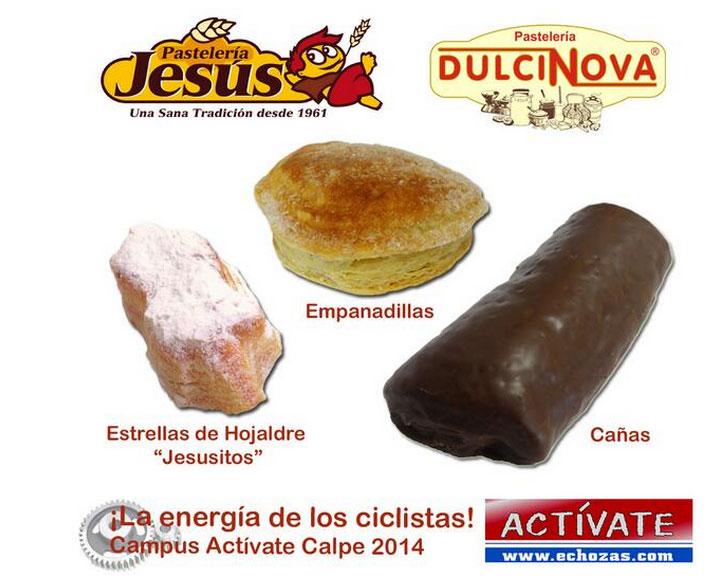 La empresa Productos Jesús y Dulcinova aporta la energía y el sabor del avituallamiento del Circuito Actívate