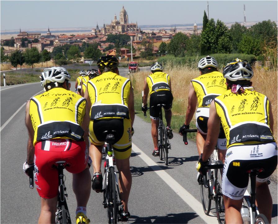 Segovia al fondo,