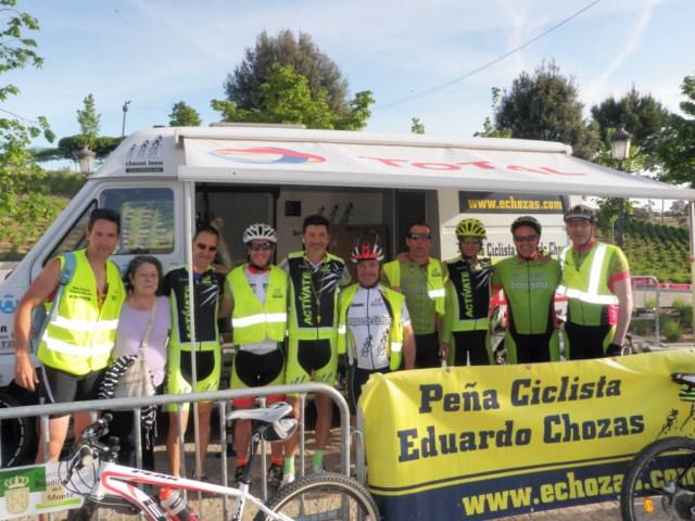 Con la colaboración del CLUB CICLISTA BOADILLA