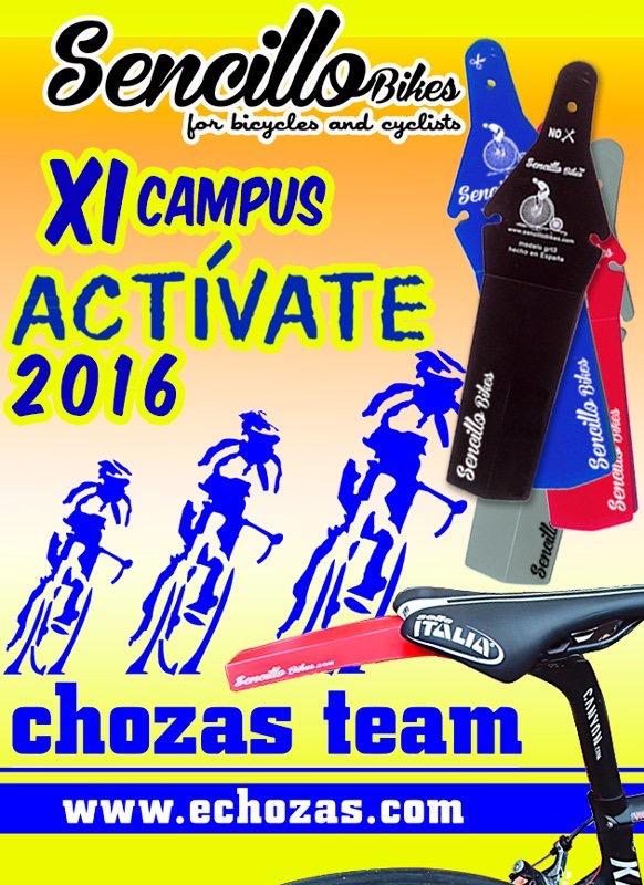 Guardabarros Sencillo Bike para todos los participantes