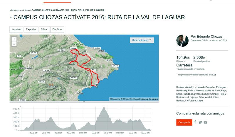 Ruta del Rafol y la Val de Laguar