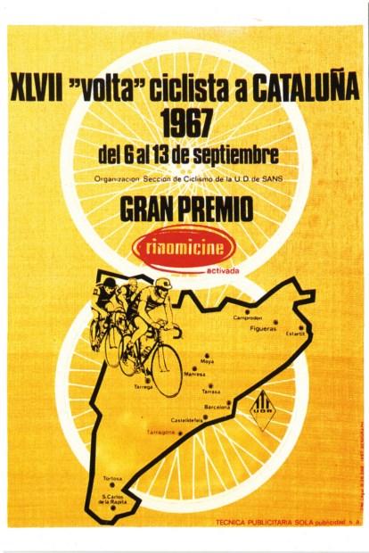 JACQUES ANQUETIL GANÓ LA VOLTA DE 1967
